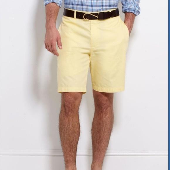 Vineyard Vines Other - Vineyard Vines Men's Yellow Shorts